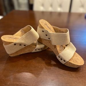 Lucky brand magnolia wedge